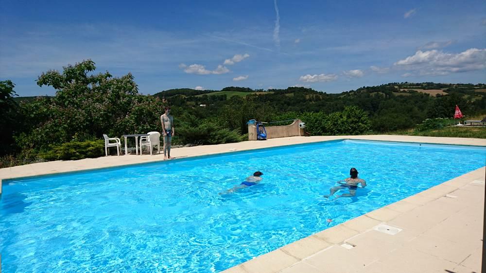hotel avec piscine a figeac